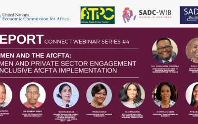 SUMMARY: African Continental Free Trade Area could expand opportunities for women, say ATPC-SADC webinar panelists.