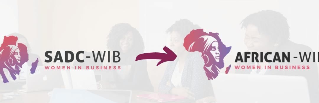 SADC Women in Business name change